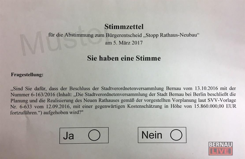 Bernau: Stadtverordnetenversammlung startete mit Rathausneubau