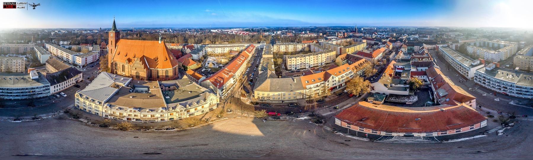 Erlebt Bernau aus einer tollen Perspektive in 100 Meter Höhe und 360 Grad Rundumblick