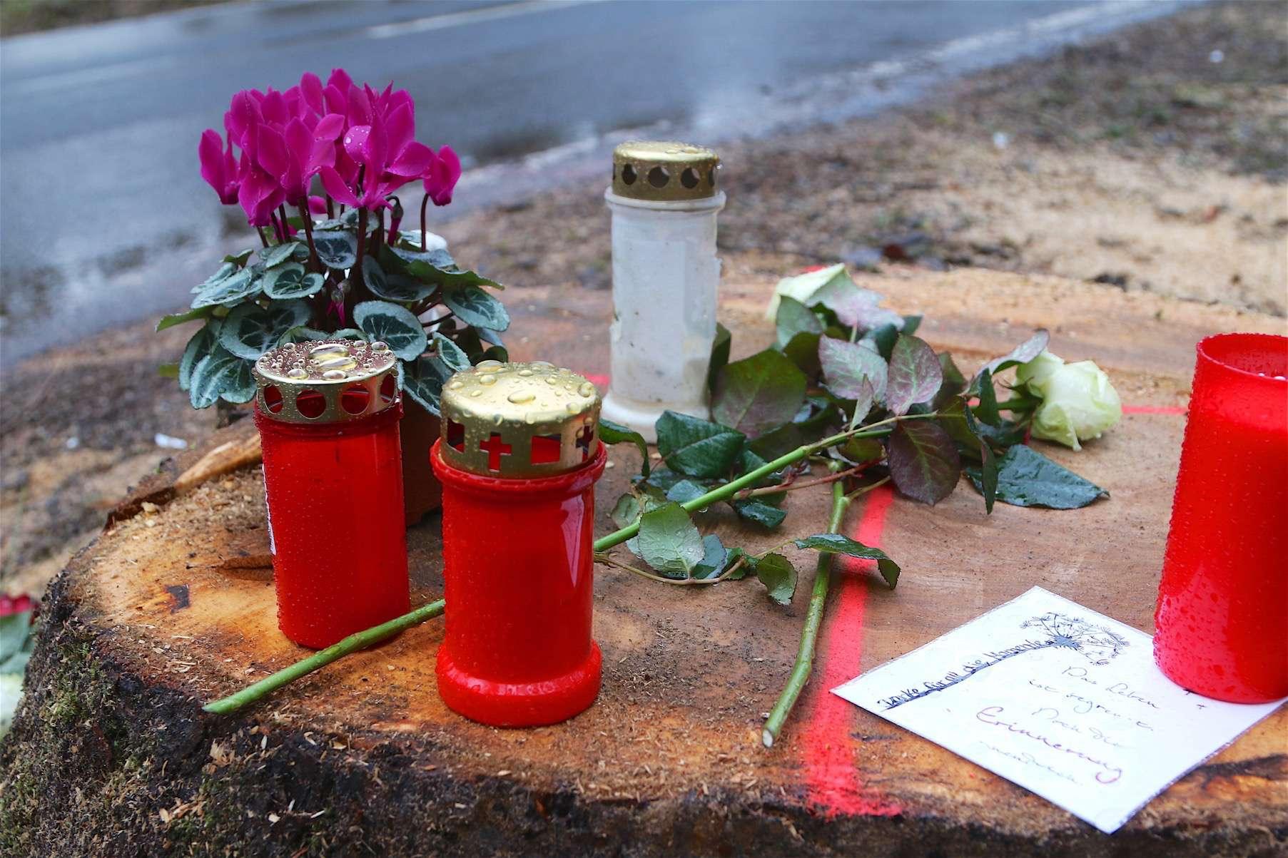 Bernau: Verkehrsunfall Albertshofer Chaussee