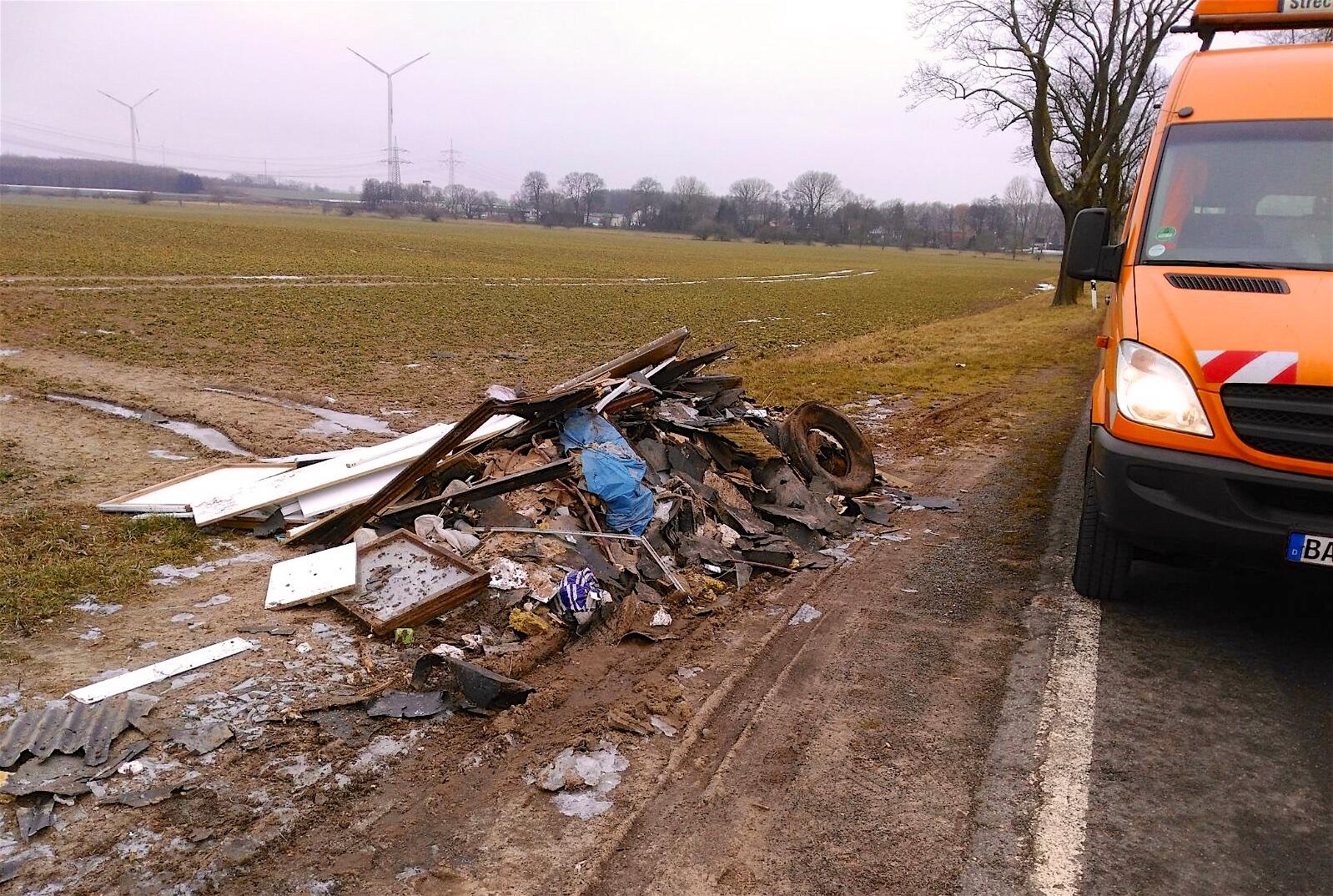 Sperrmüll Eberswalde illegale müllentsorgung umweltsündern in barnim auf der spur