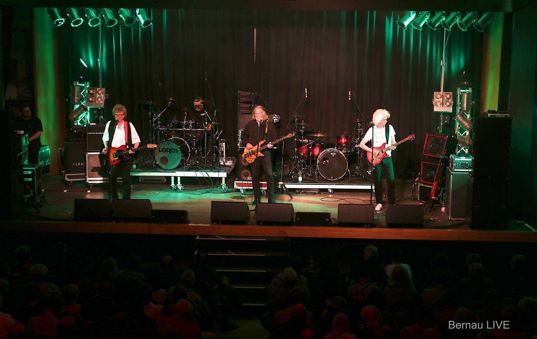 Deutsche Rocklegenden The Rattles & The Lords gastieren in der Bernauer Stadthalle