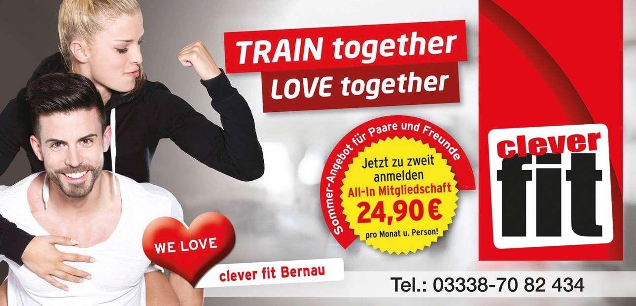 Willkommen bei clever fit Bernau (Anzeige)