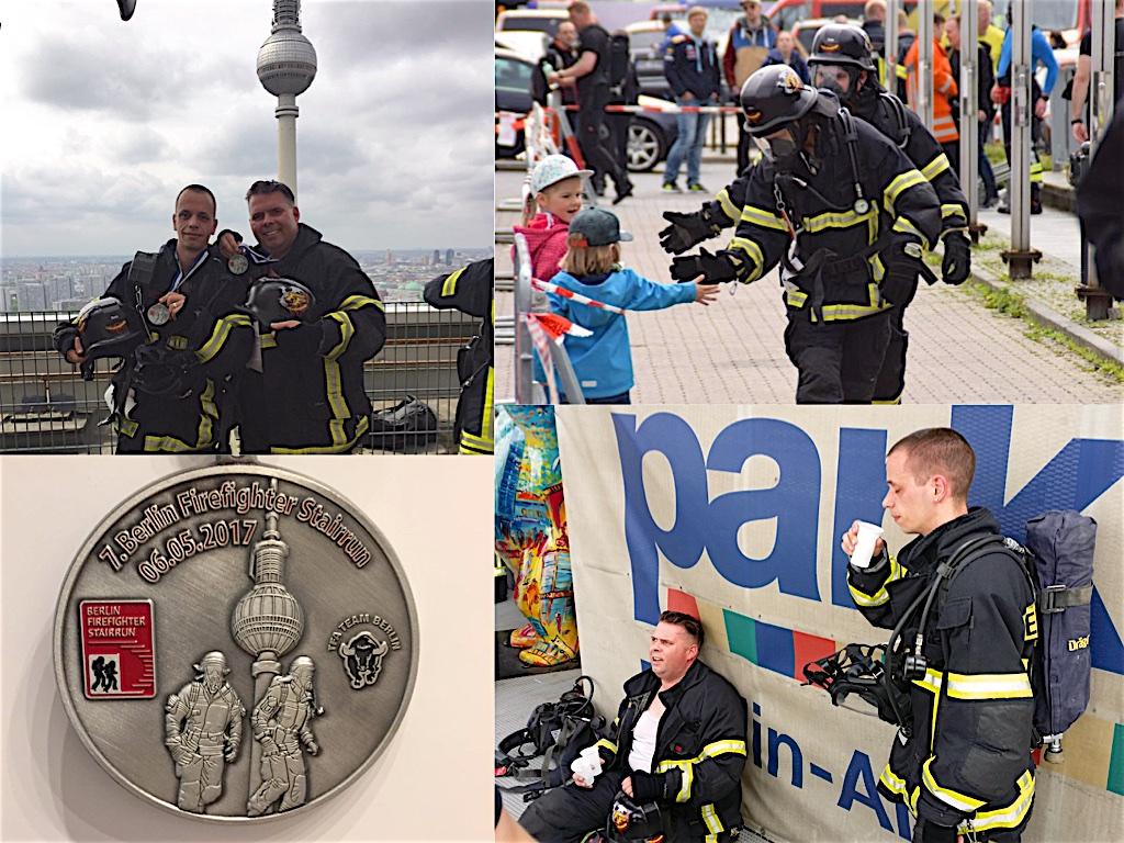 Hoch hinauf für die Feuerwehr Bernau: Unter Atemschutz 39 Stockwerke