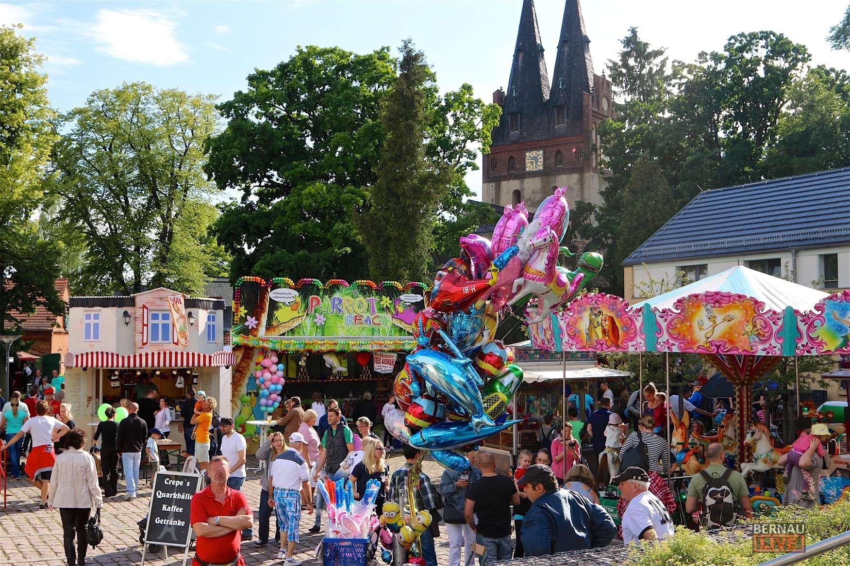 Bernau - Barnim: Schlendermeile in Panketal – Sommerfest Feuerwehr Zepernick