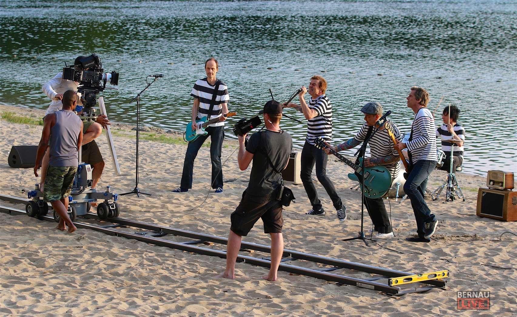 """""""Die Toten Hosen"""" Ein bisschen Wannsee am Strandbad Wukensee"""