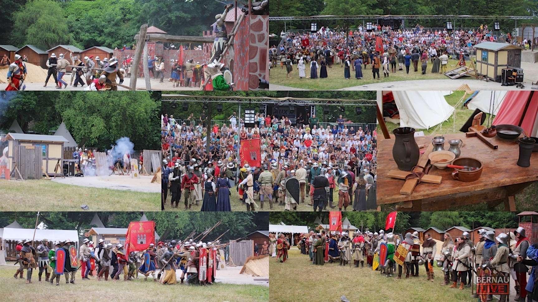 Hussitenfest Bernau: Die letzte Schlacht ist geschlagen