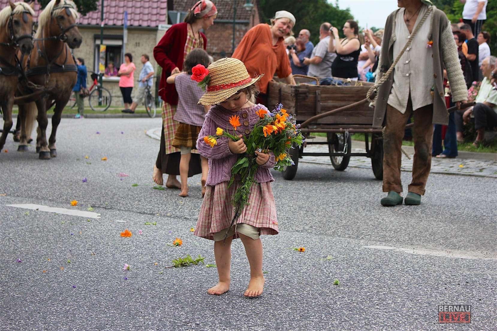 650 Jahre Gemeinde Rudnitz Bilder Vom Heutigen Festumzug