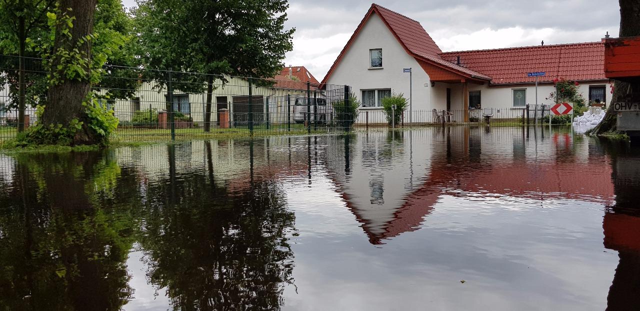 Hochwasser Leegebruch