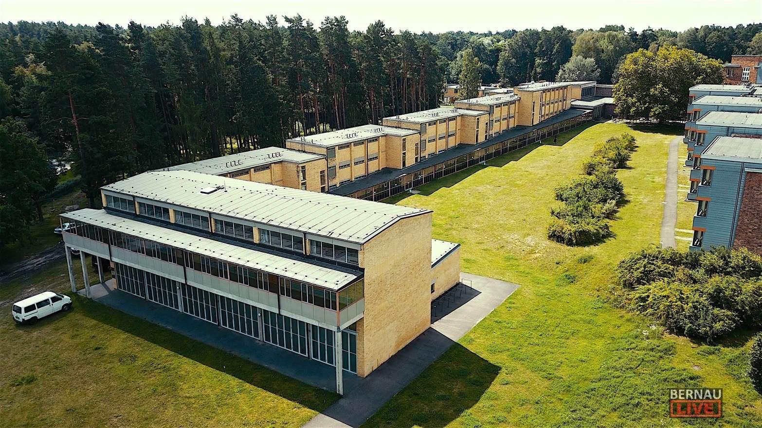 Bauhaus-Denkmal Bernau - Betonarbeiten am UNESCO-Weltkulturerbe