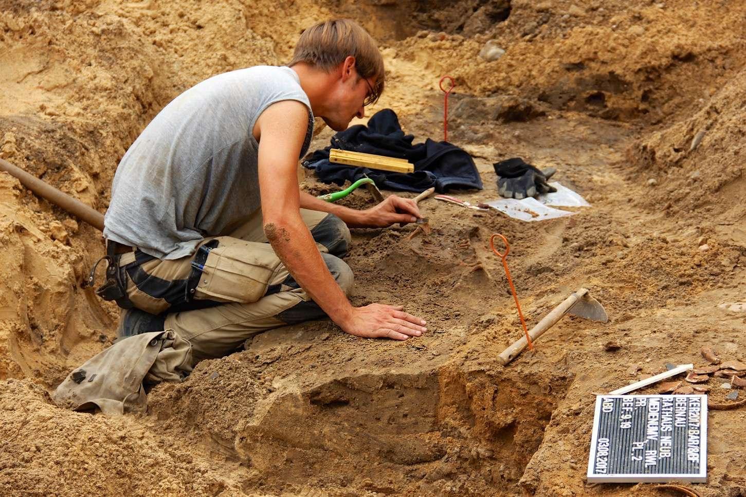 Bernau: Archäologische Funde bei Bauarbeiten zum Neuen Rathaus