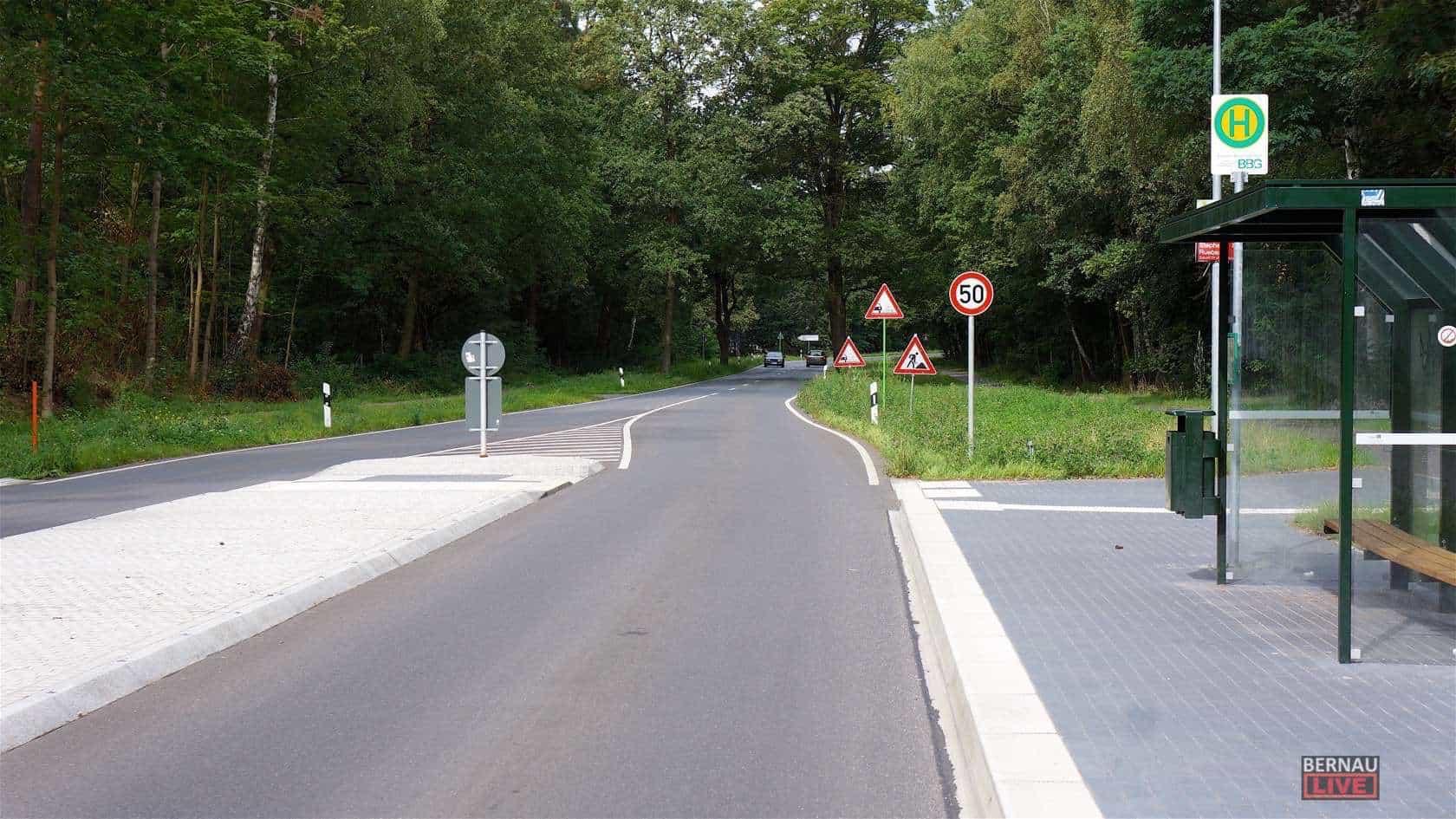 Bernau: Straßenbauarbeiten auf der B273 verlaufen nach Plan