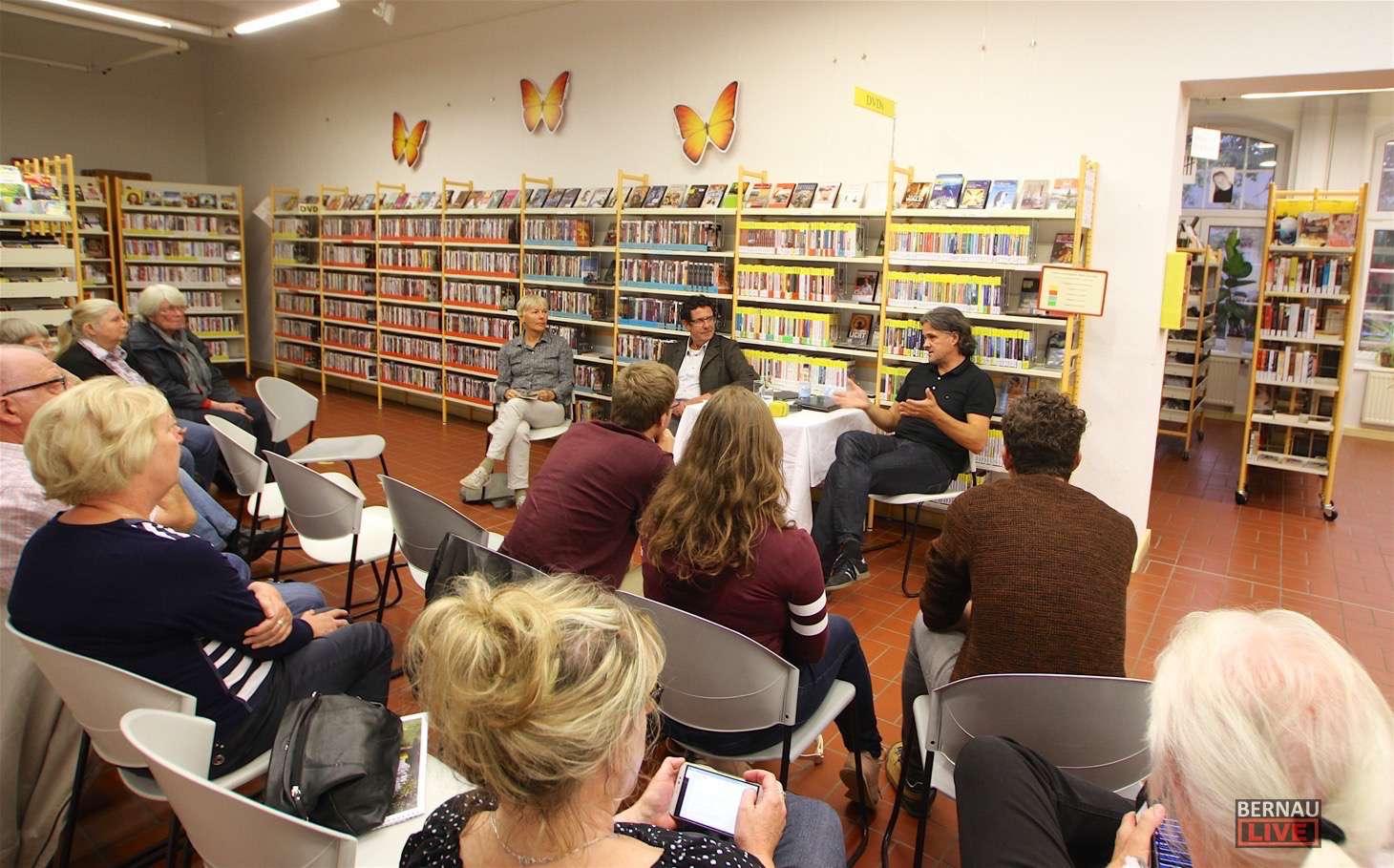 Bernau: Wie werden Nachrichten gemacht - Journalisten informierten