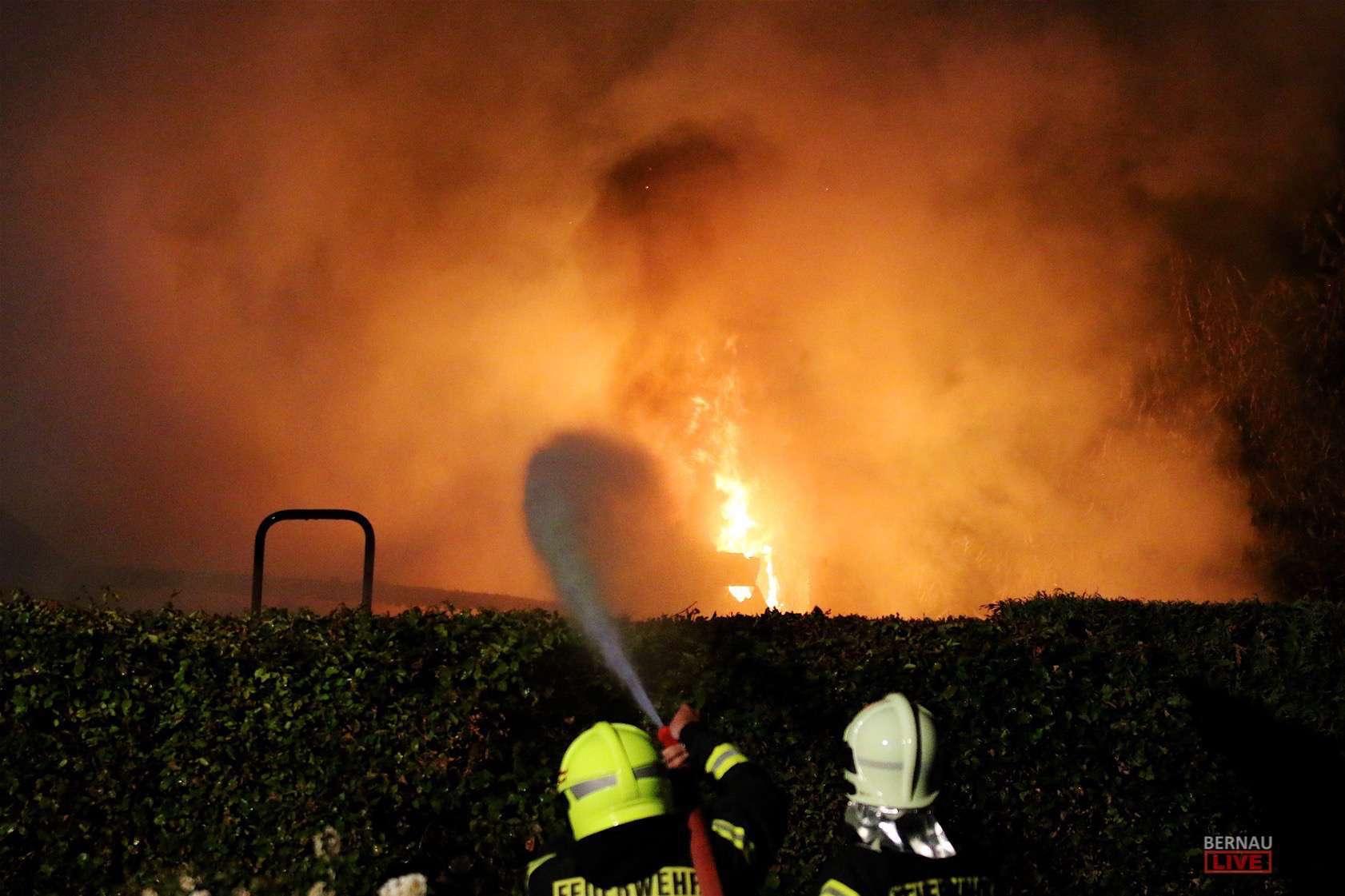 Schuppen Eberswalde in wandlitz steht ein schuppen in vollbrand