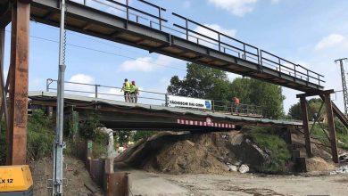 Bernau: Vollsperrung der Zepernicker Chaussee (Eisenbahnbrücke)