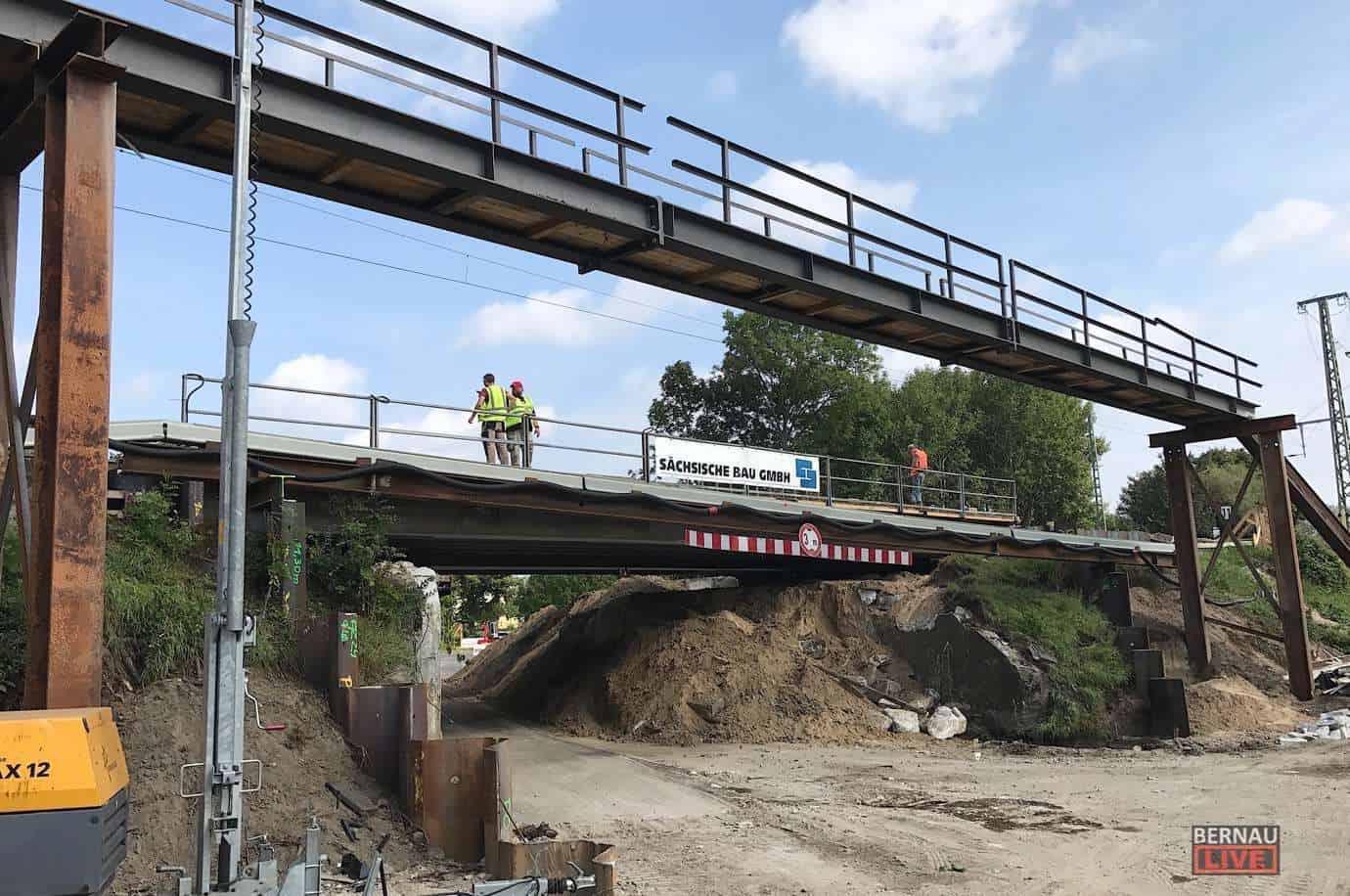 Verkehr: Bauarbeiten und Sperrungen in Bernau bei Berlin