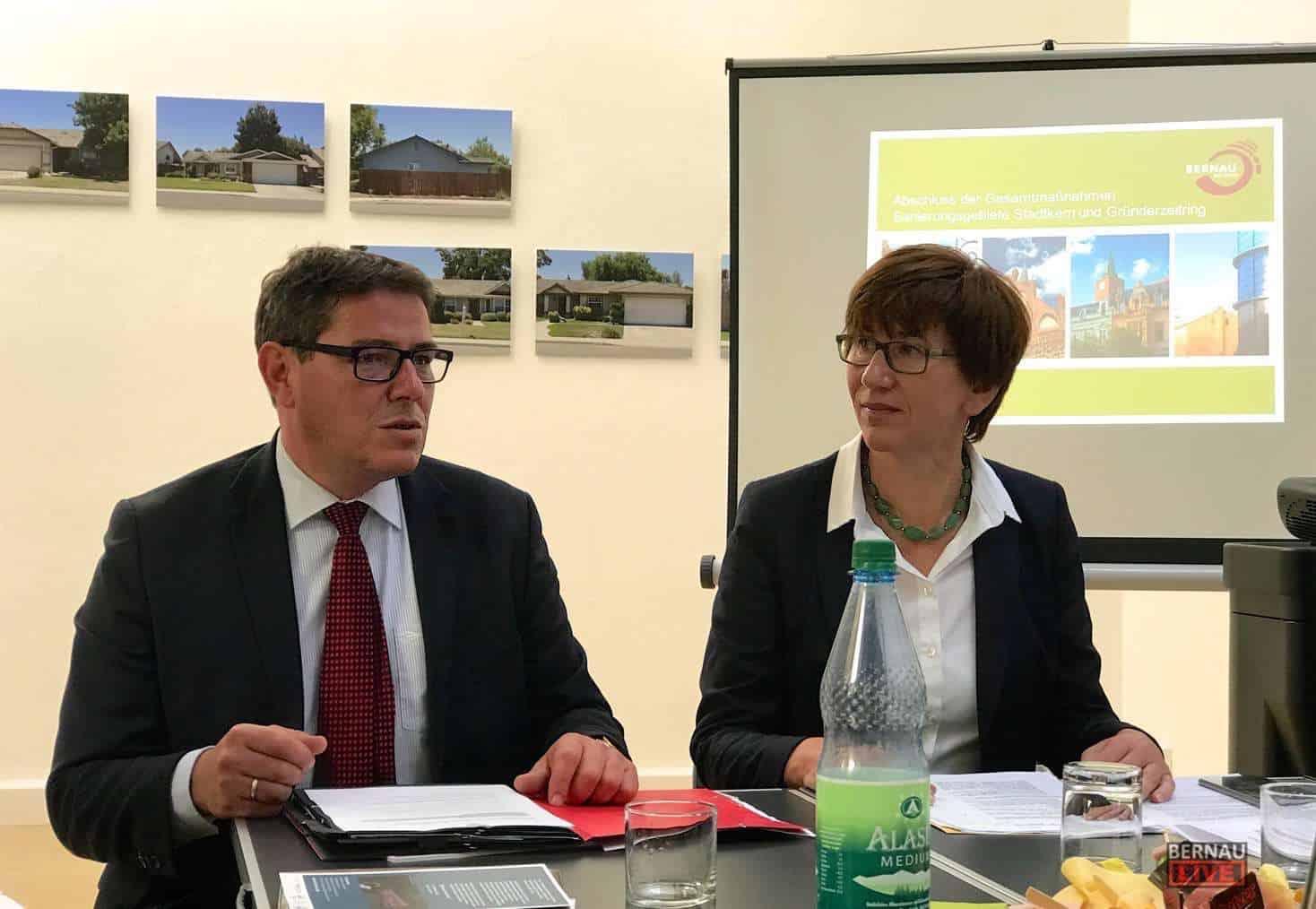 Bernau: 28 Millionen Euro flossen in die Sanierung der Innenstadt