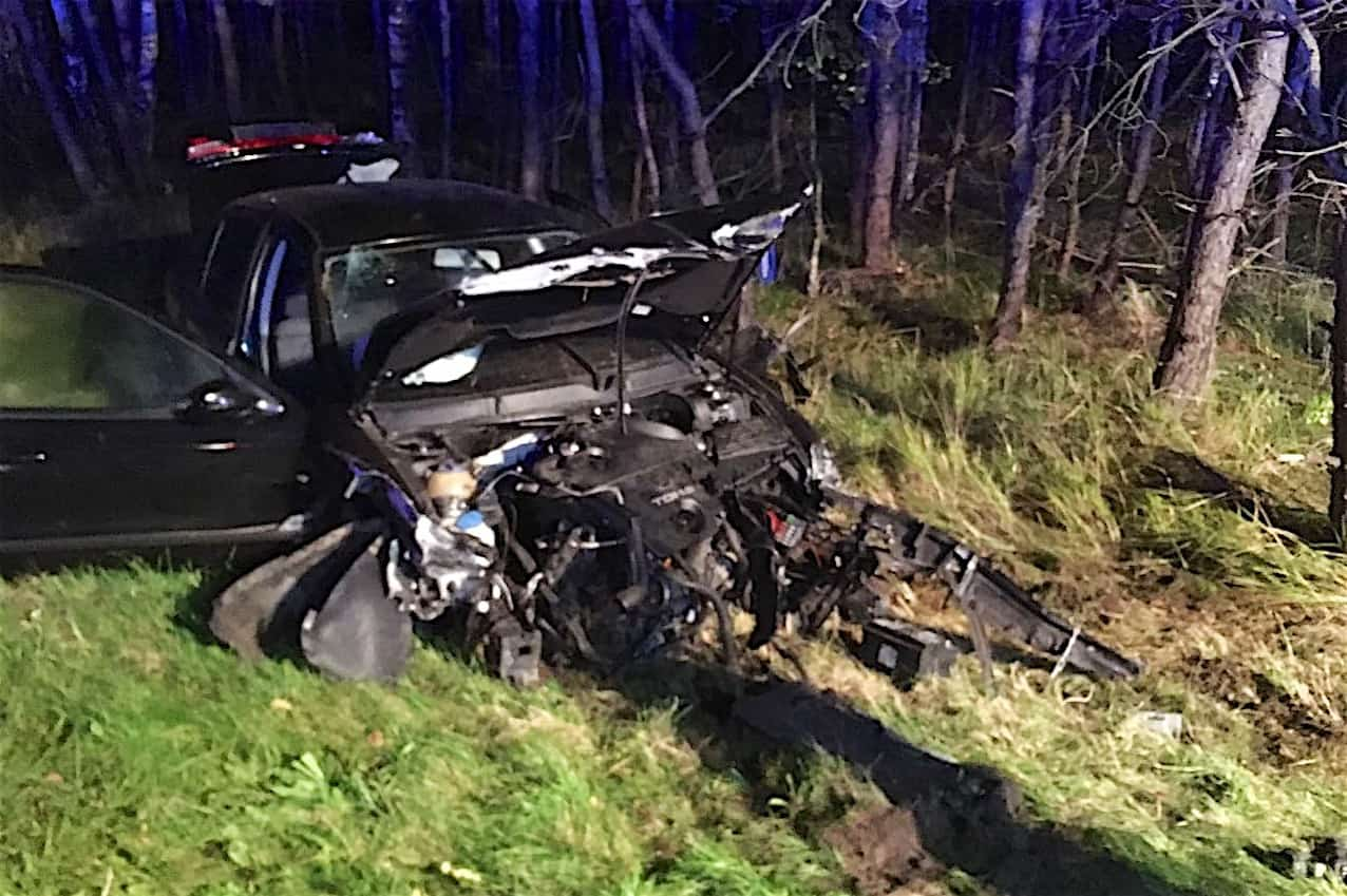 6 Verletzte bei Unfall heute Nacht zwischen Lanke und Finowfurt