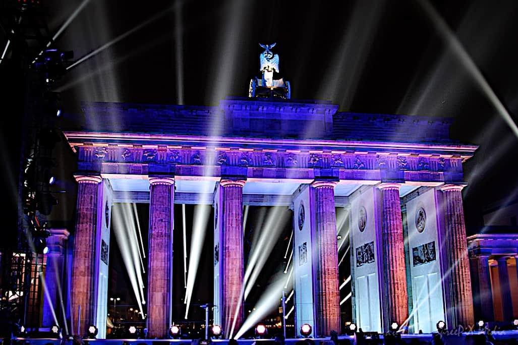 Bernau - Brandenburger Tor - Tag der Deutschen Einheit
