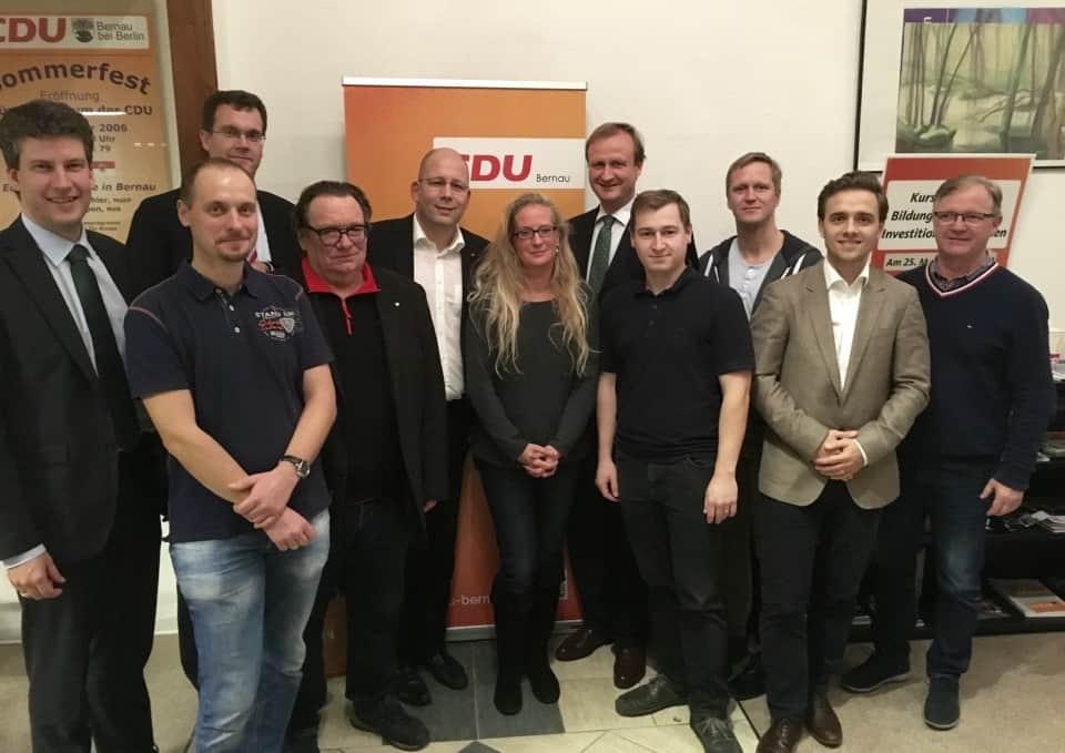 CDU Bernau nach Vorstandswahl gut aufgestellt