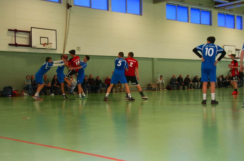 Handball: Leider kein Erfolg der Bernauer Bären in Potsdam