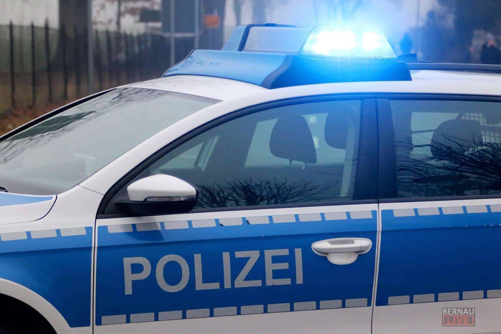 Polizei: Autodieb gefasst - 8 Notebooks aus Amt in Bernau gestohlen
