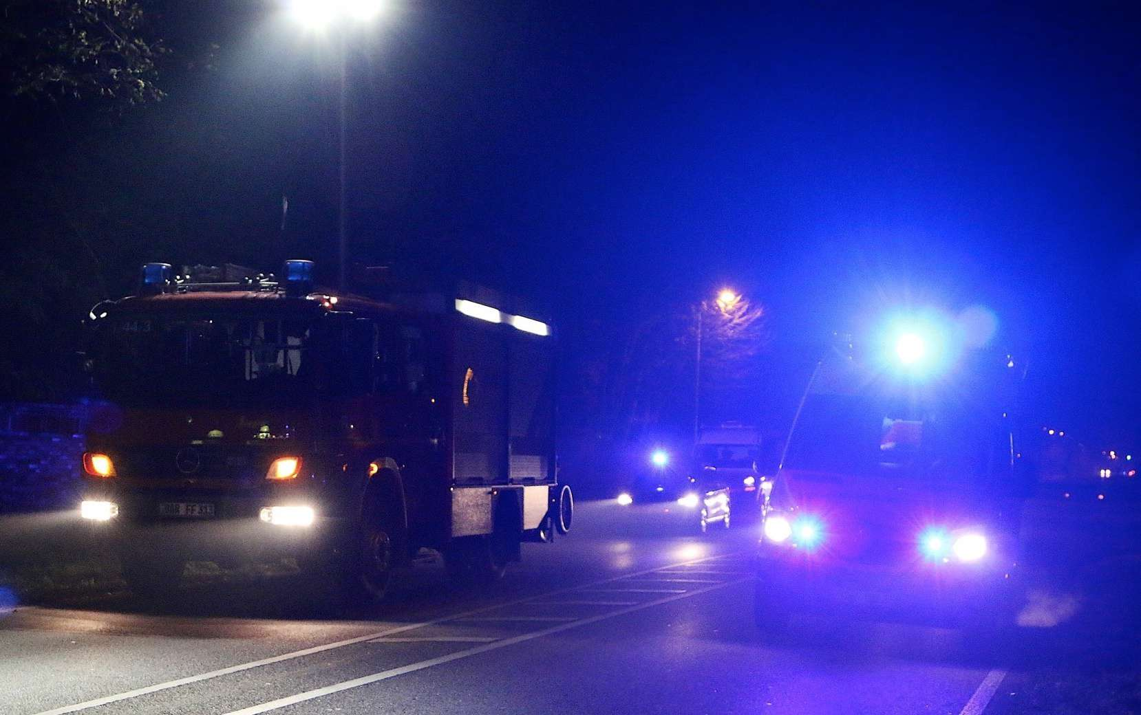 Verkehrshinweis Bernau - Unfall Schönower Chaussee