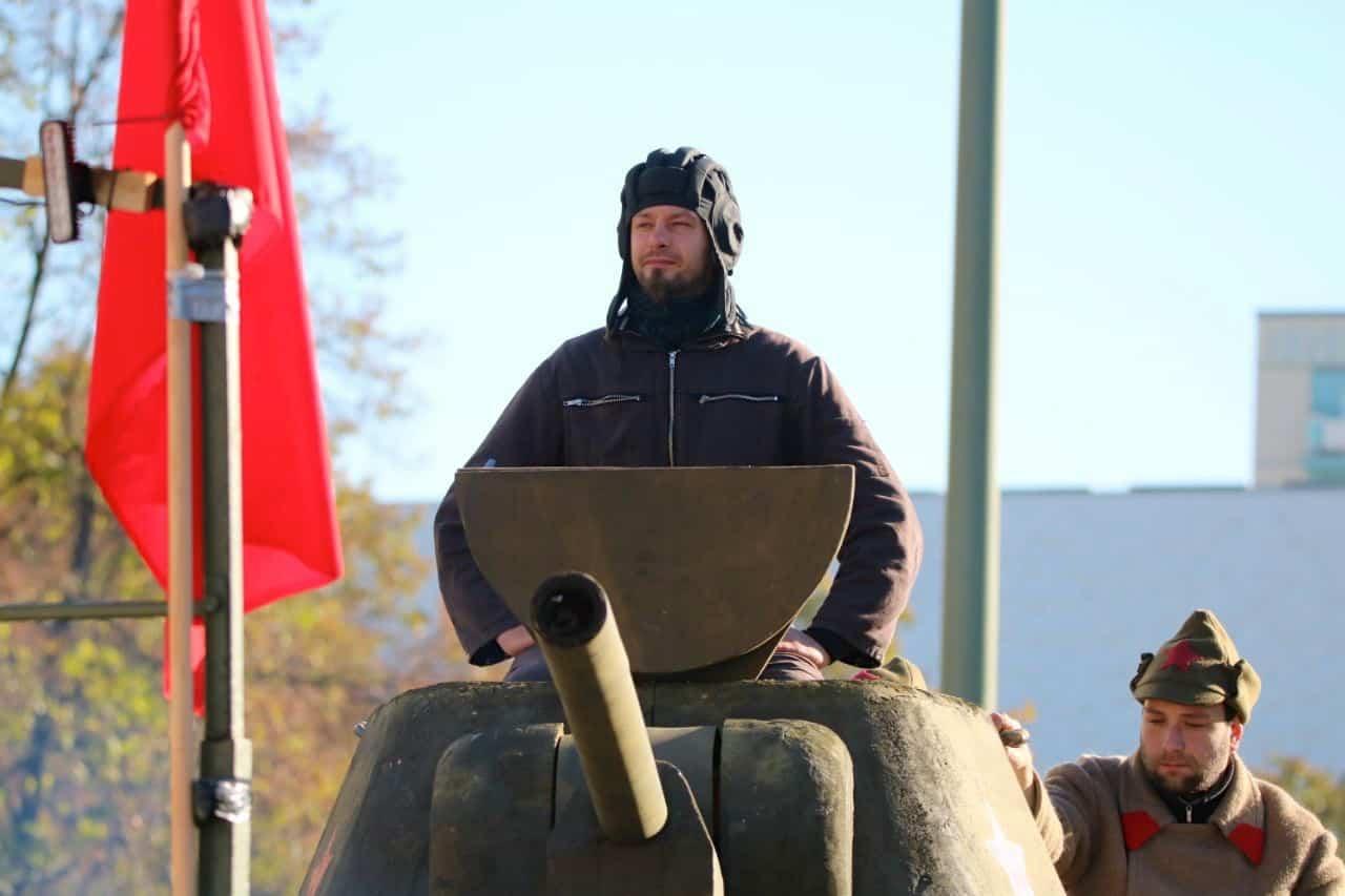 Was war denn da los? 100 Jahre Oktoberrevolution in Berlin?