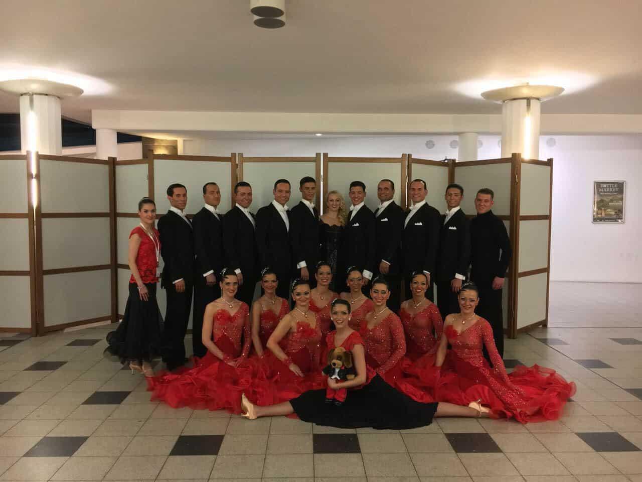Platz 5 für den Tanzclub Bernau bei der Meisterschaft in Bremen
