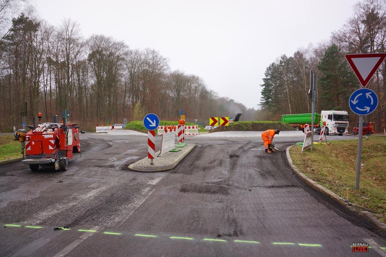 Info Zur Baustelle As Wandlitz Und Kreisverkehr B273 L304 Bernau