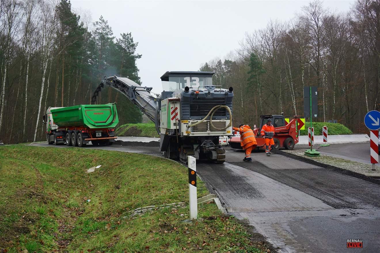 Info zur Baustelle AS Wandlitz und Kreisverkehr B273/L304 Bernau