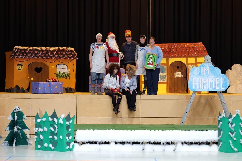weihnachtstrubel und viel theater im hort der grundschule. Black Bedroom Furniture Sets. Home Design Ideas