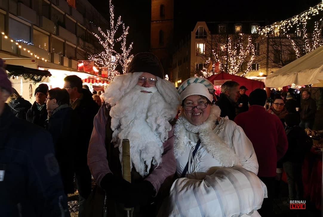 Vor wenigen Minuten schloss der Weihnachtsmarkt in Bernau