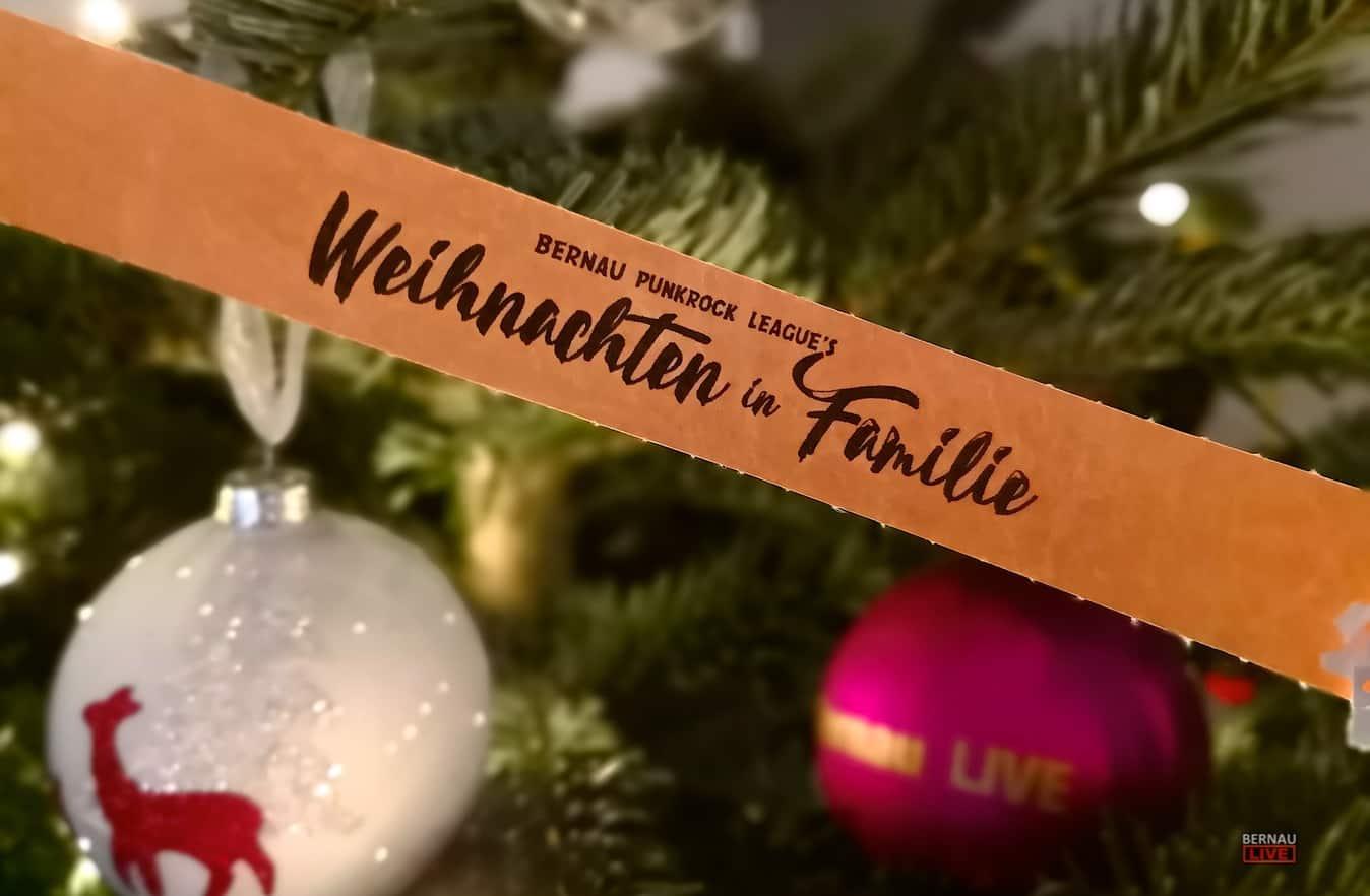 "Bernau: ""Weihnachten in Familie"" - Bernauer Punkrock League"