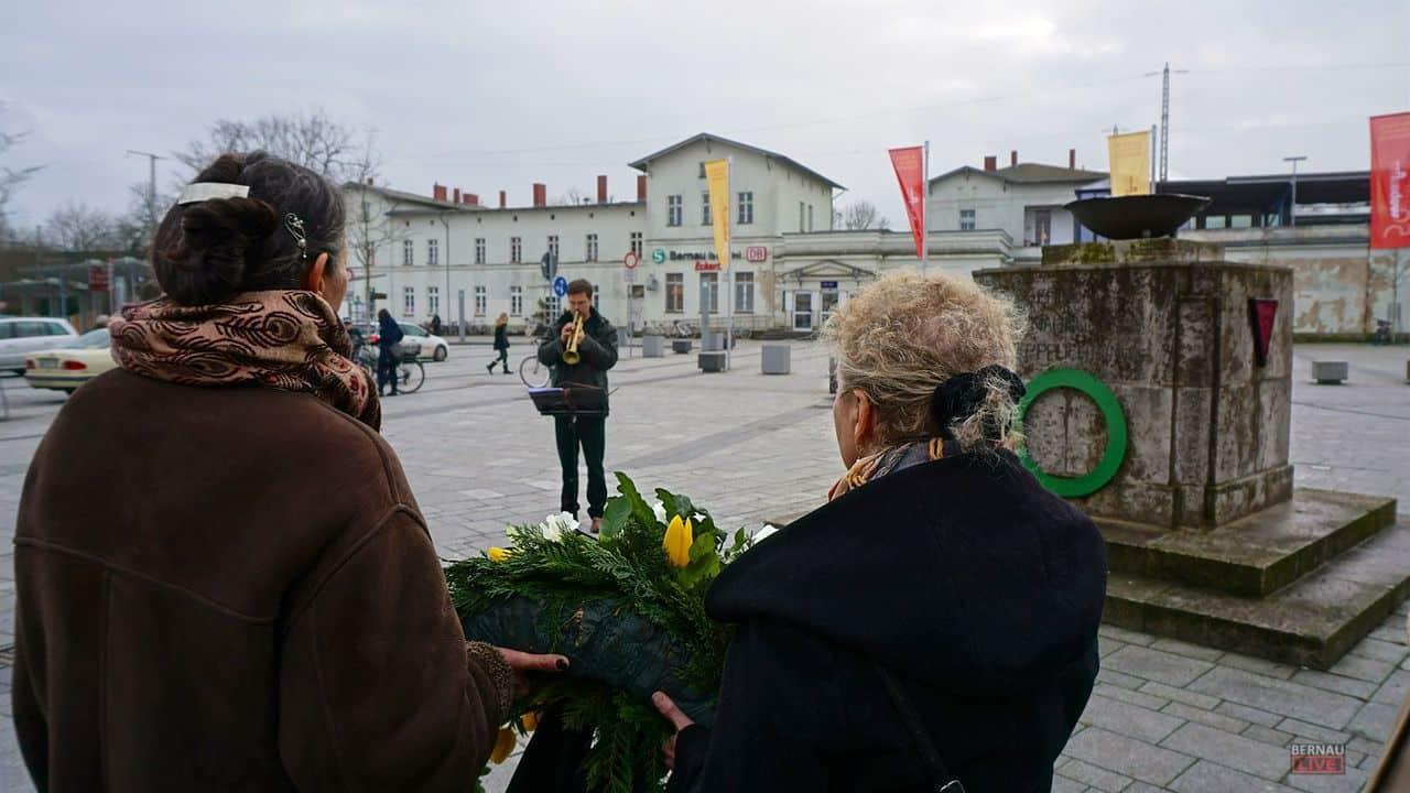 Bernau: Gedenken an die Opfer des Nationalsozialismus