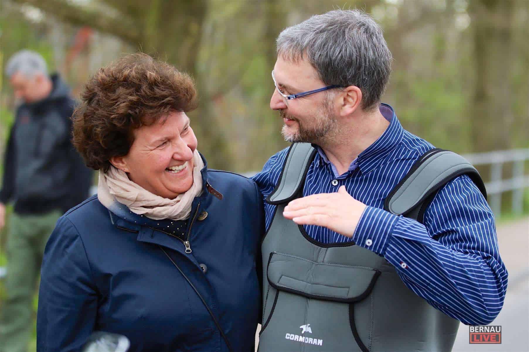 Panketal nahm Abschied von ihrem Bürgermeister Rainer Fornell
