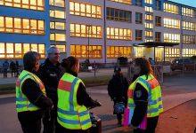 Für einen sicheren Schulweg - Fahrradkontrolle der Polizei in Bernau