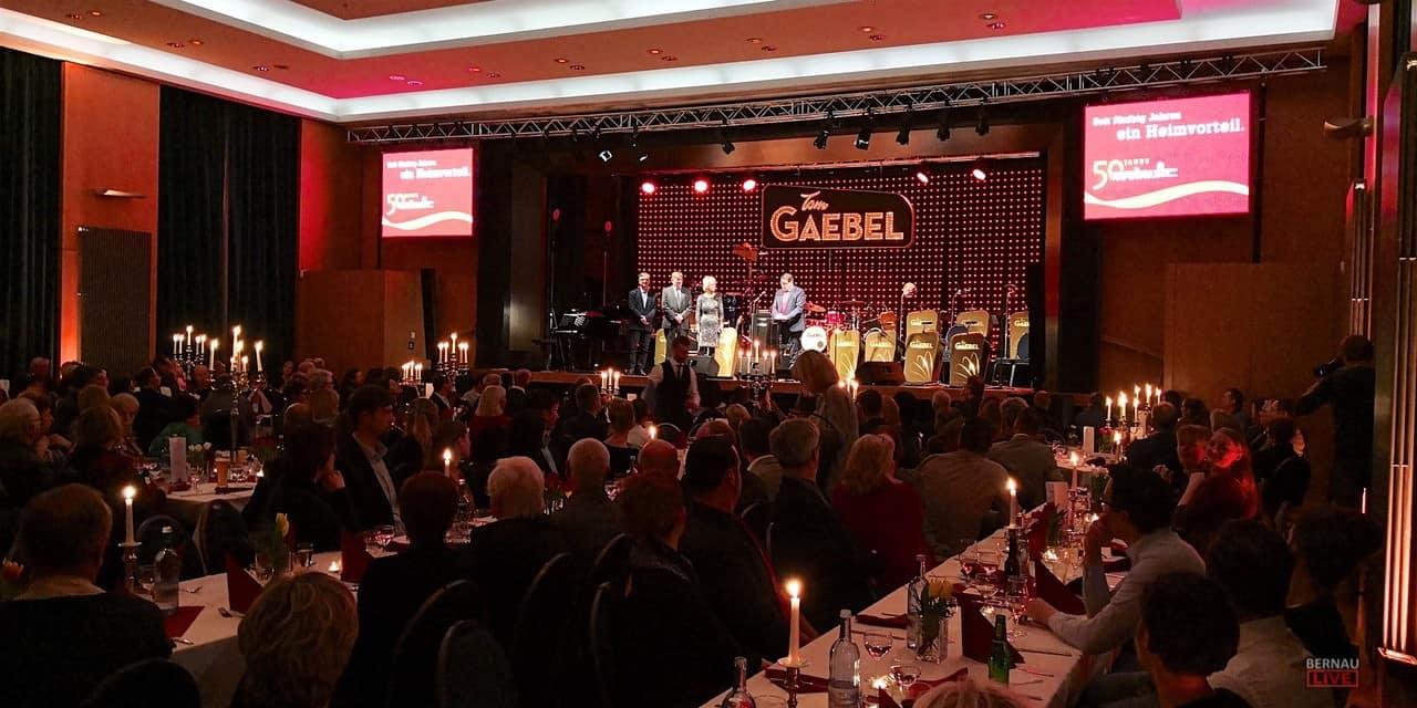 Ein rauschendes Fest zum 50. Geburtstag der WOBAU Bernau