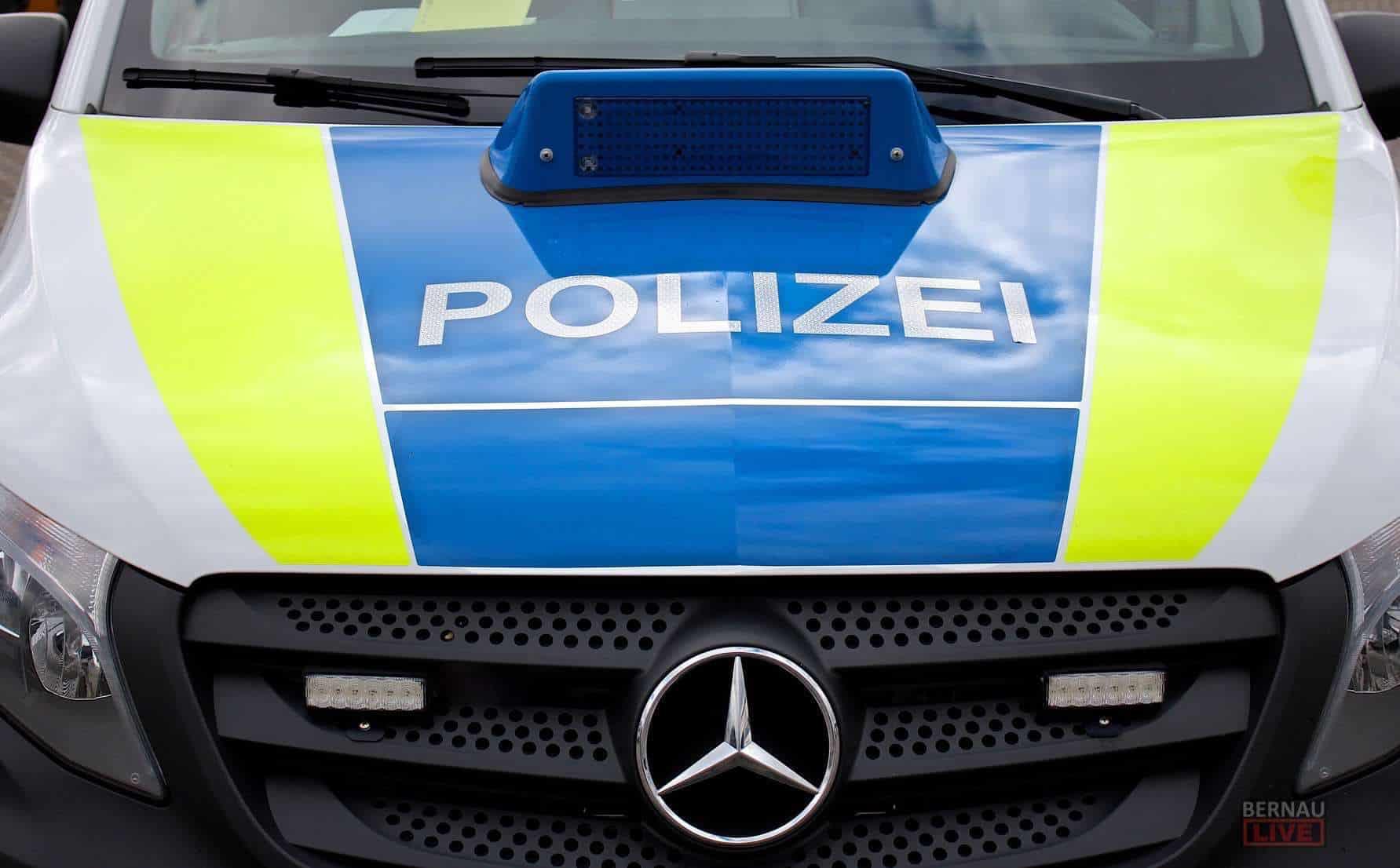 Meldungen der Polizeidirektion Ost für Bernau und den Barnim