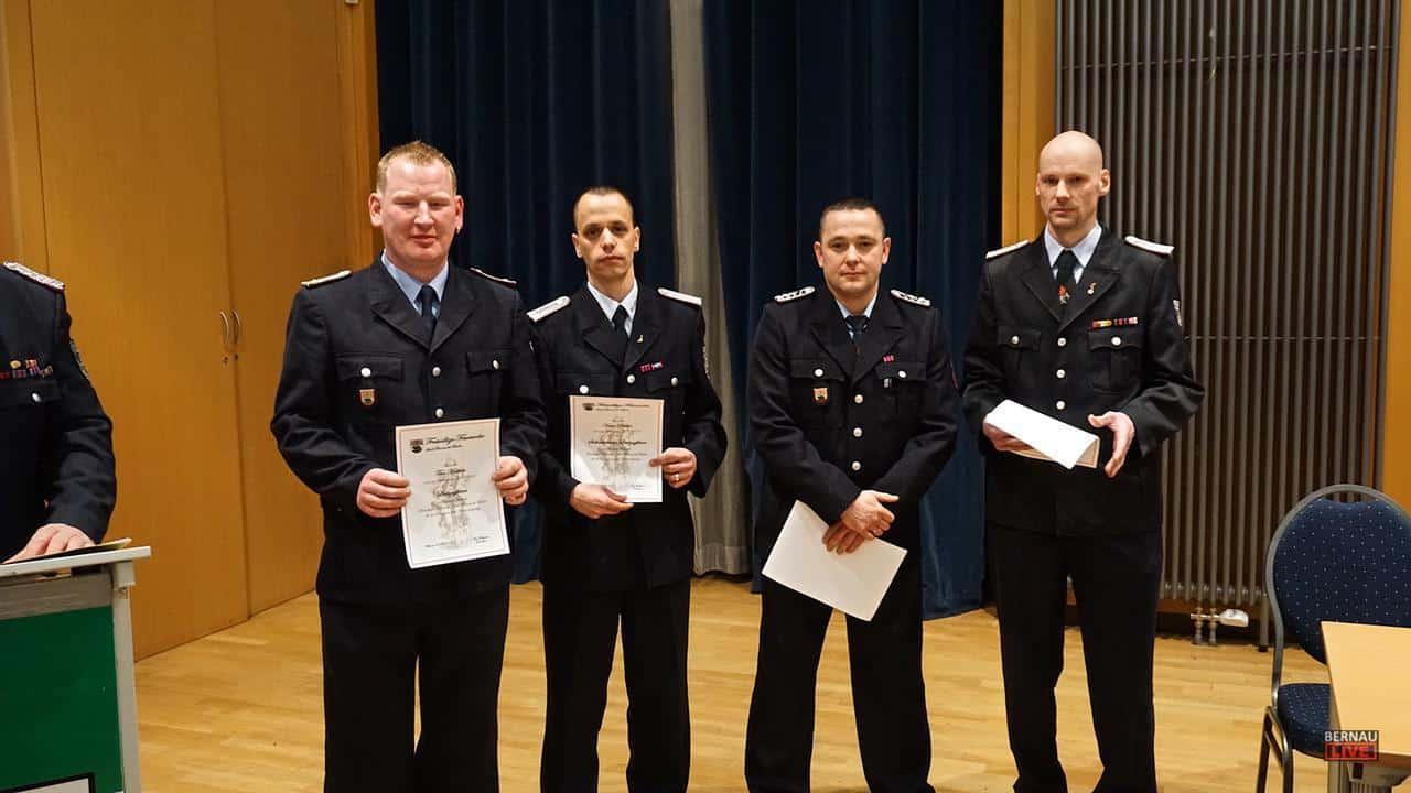 539 Einsätze in 365 Tagen - Feuerwehr Bernau zieht Jahresbilanz