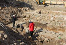 Spannende Ausgrabungen am Rathausneubau in Bernau