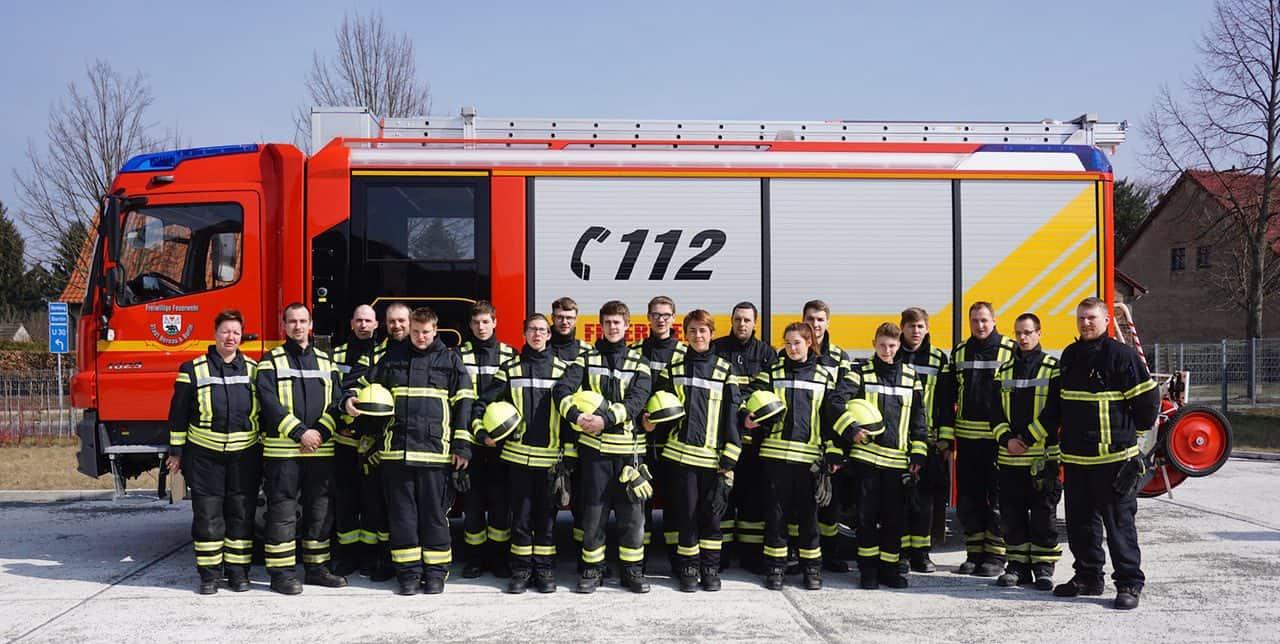 Willkommen im Team: 12 neue Feuerwehrleute in Bernau