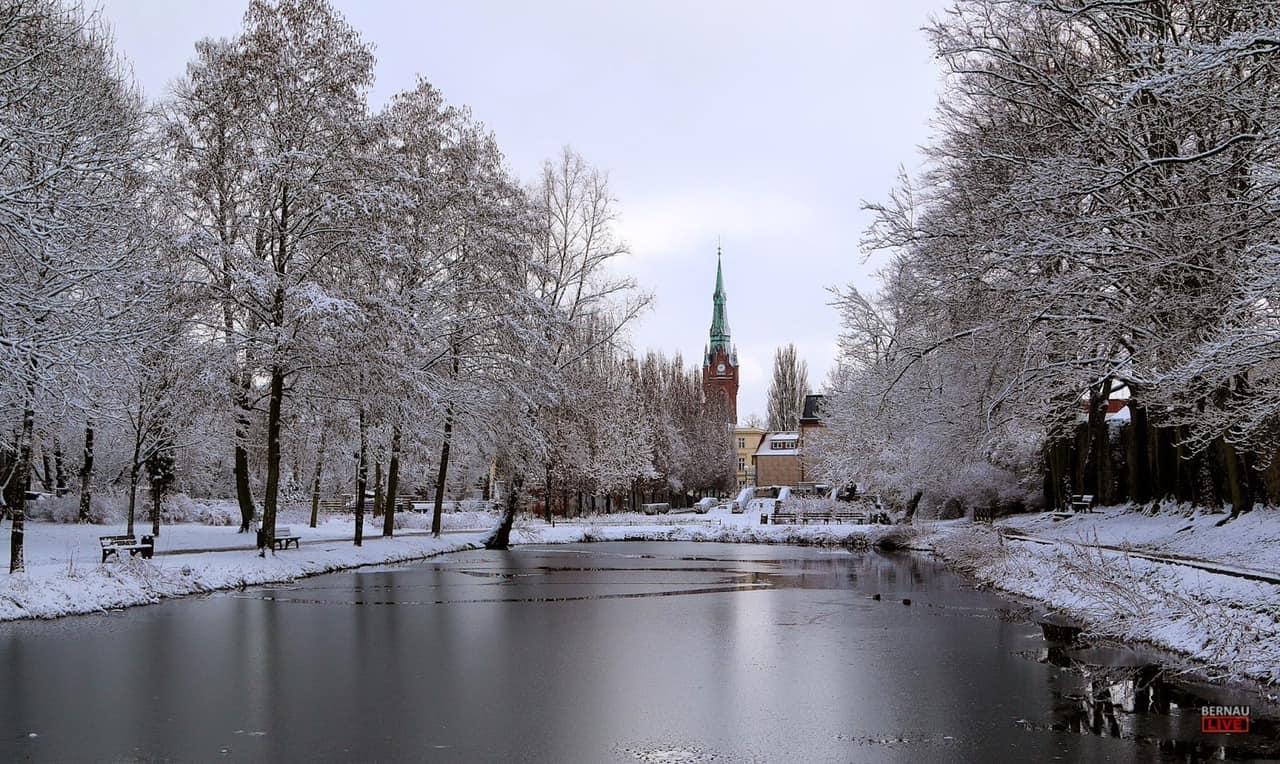 Ein Bisschen Winter In Bernau Und Drumherum Guten Morgen