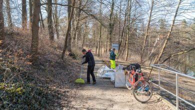 Bernau: Frühjahrsputz in Lobetal und am Mechesee - Danke!