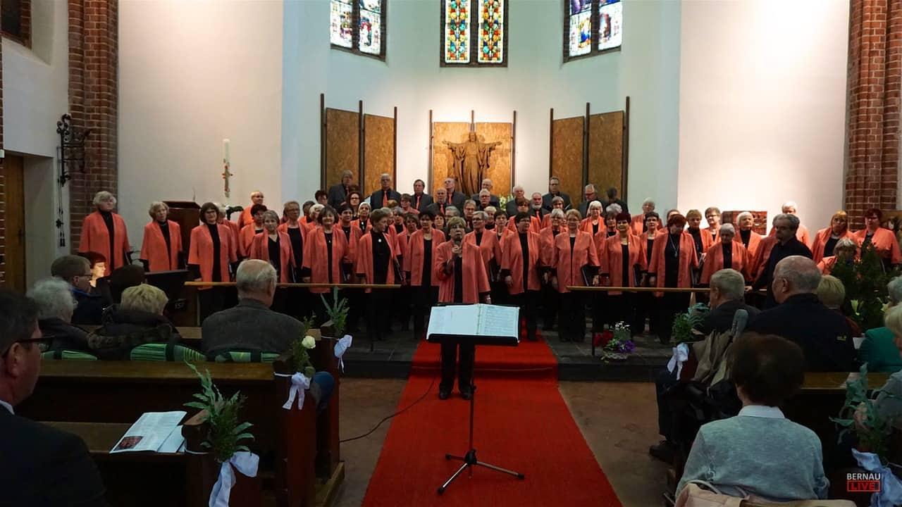30 Jahre Bernauer Sänger - Festkonzert in der Herz-Jesu Kirche Bernau