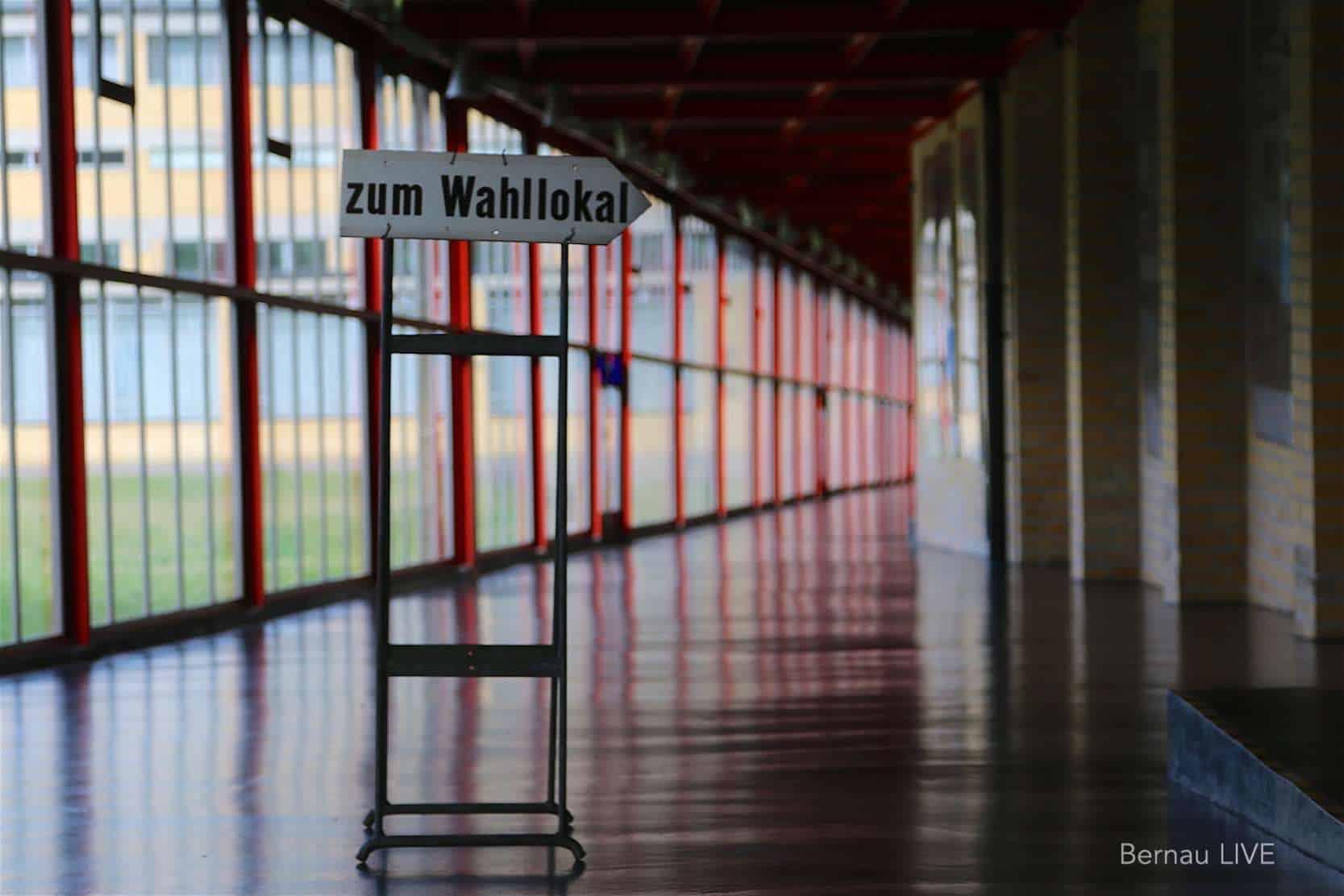 Vorläufiges Endergebnis der Landtagswahl in Barnim