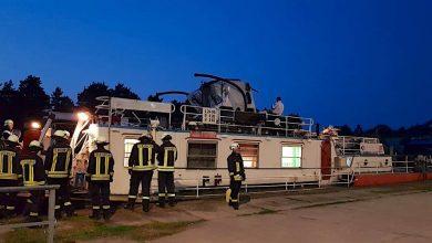 Zwei Personen bei Schiffsunfall in Eberswalde verletzt