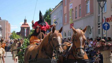 Hussitenfest Bernau: Verleih von Kostümen zum Festumzug