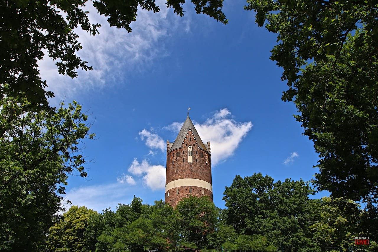 Wasserturm Bernau - Guten Morgen aus Bernau und einen schönen Wochenstart