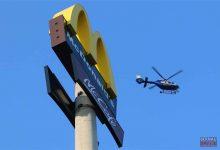 Bernau: Polizeihubschrauber unterstützte die Suche nach Verdächtigen