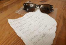 Bernau: Verlorene Sonnenbrille mit Happy End und ohne Finderlohn